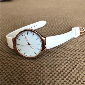 Target White & Rose Gold Watch